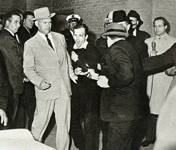 Lee Harvey Oswald Shot By Jack Ruby