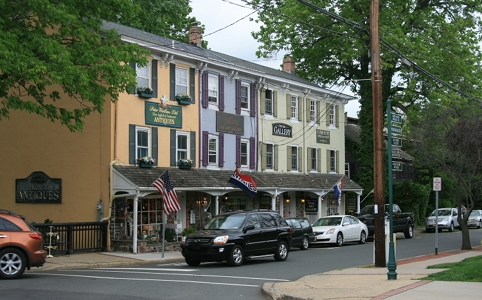 antique shop in Lambertville
