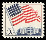 US Postage Stamp 5 Cents