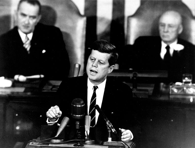 John F. Kennedy Moon Speech