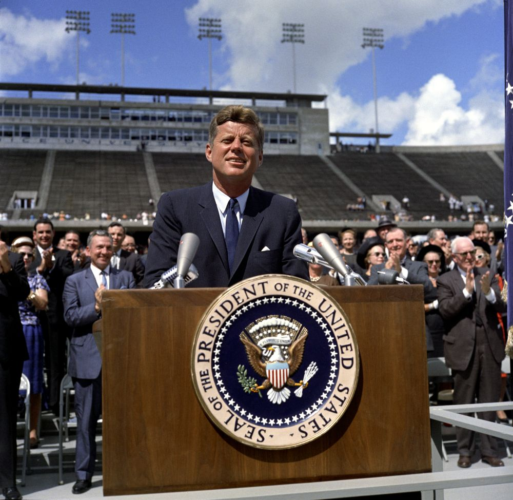 JFK at Rice University Kennedy speech