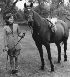 Jacqueline Lee Bouvier was an accomplished equestrian