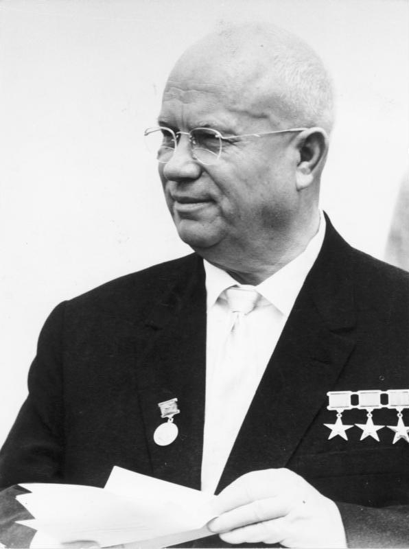 Nikita Khrushchev USSR Soviet Cuban Missile Crisis