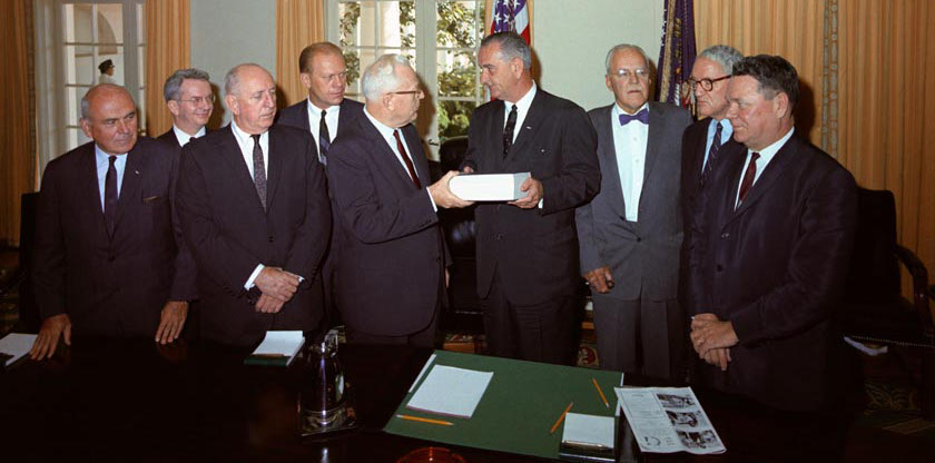 Warren Commission and LBJ