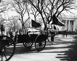 JFK President Kennedy funeral after the conspiracy