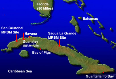 CIA Bay of Pigs Map