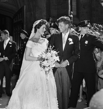 Jackie k fashion for Jackie kennedy wedding dress