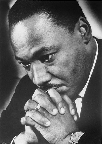 Martin Luther King Pray