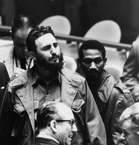 Fidel Castro at the UN General Assembly in 1960