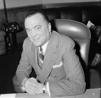 J Edgar Hoover Smiling