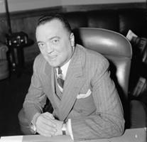 J Edgar Hoover Smiling