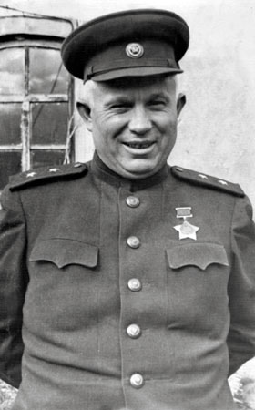 Nikita Khrushchev in WW2 world war 2