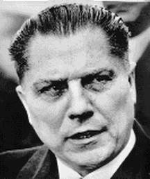 Jimmy Hoffa teamsters boss