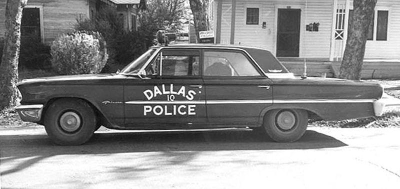 Tippit police squad car