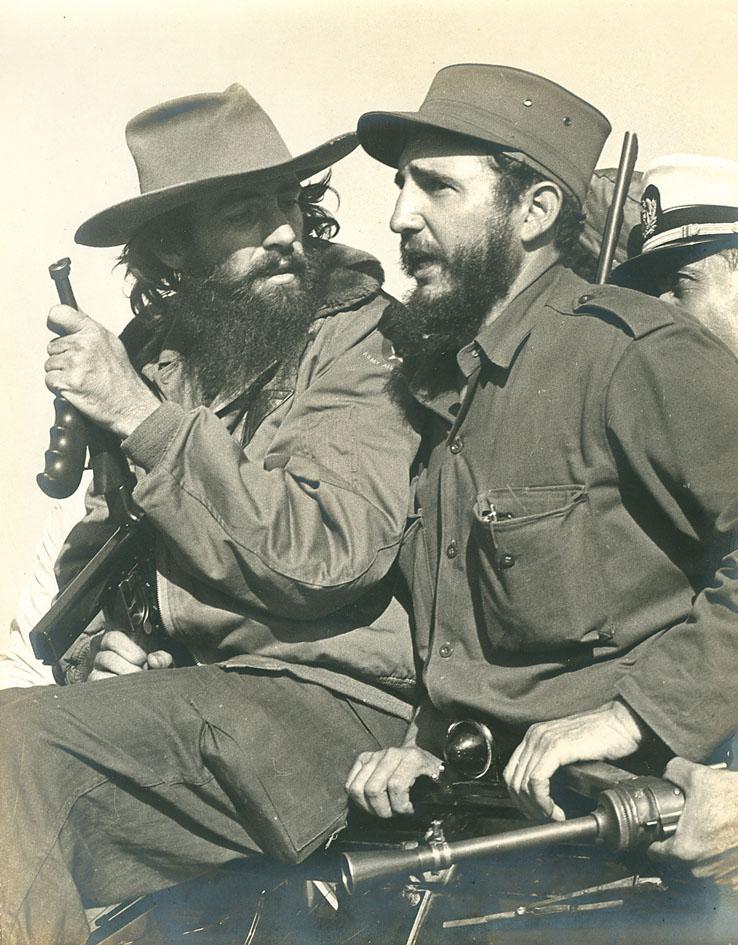 Fidel Castro and Luis Korda