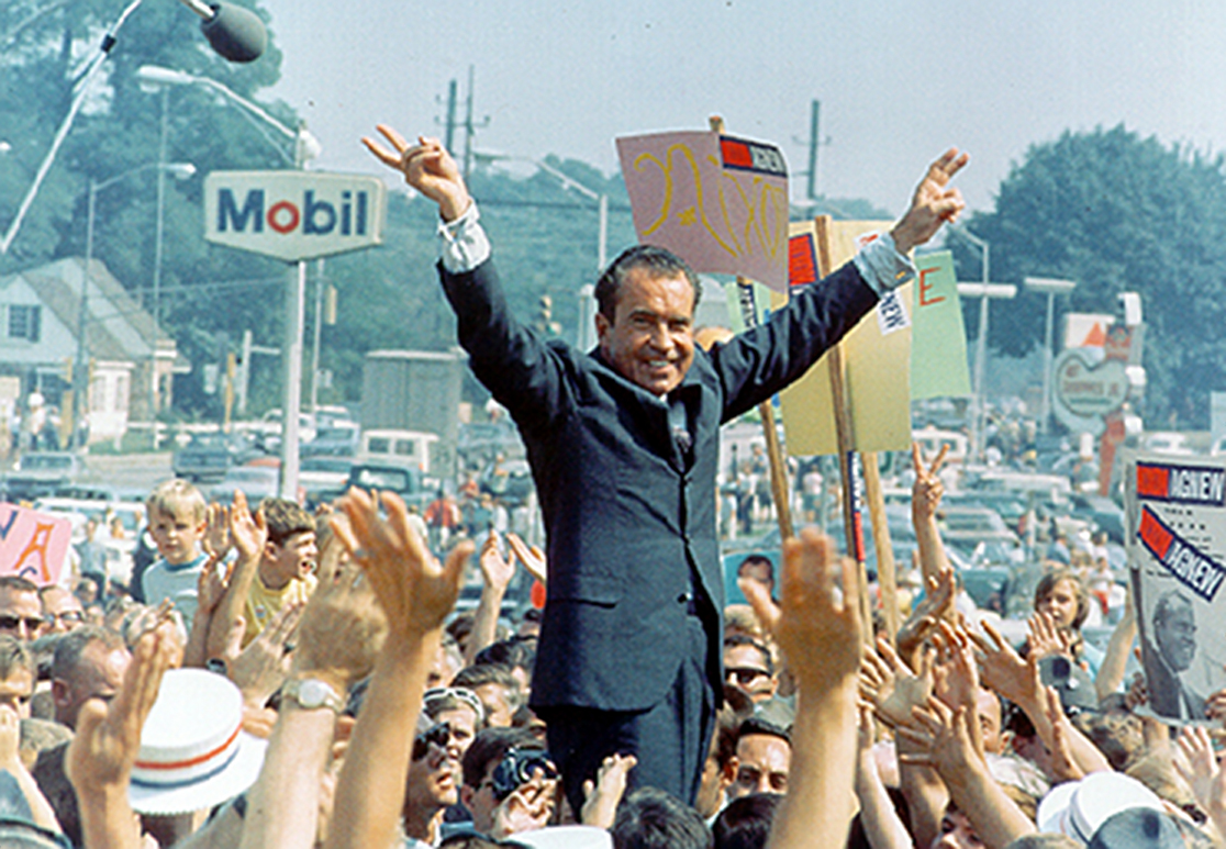 Richard Nixon Campaigns Moble